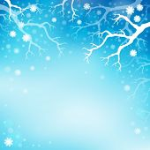 Winter theme background 3 - eps10 vector illustration.