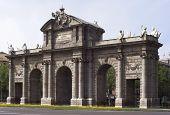 Madrid 18th Century Puerta De Alcala