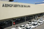 Airport Of Malaga In Spain
