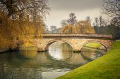 Bridge over Cam river, Cambridge University