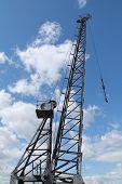 Dockside Cargo Crane.