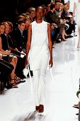 NEW YORK-SEP 8: Mercedes-Benz Fashion Week presents Ralph Rucci collections at Lincoln Center on Sep