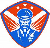 Policeman Security Guard Police Officer Crest