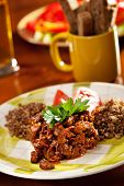Goulash with Buckwheat