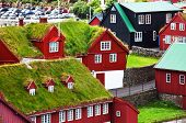 Vintage style of Faroe islands