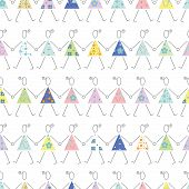 dancing girls pattern