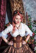 Beautiful Steampunk Woman