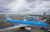 Amsterdam Airport Schiphol, The Main International Airport Of The Netherlands