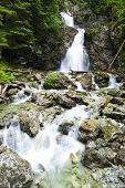Dolny Nefcersky waterfall, Vysoke Tatry (High Tatras), Slovakia