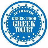Greek Yogurt-stamp