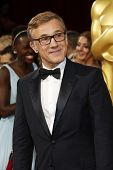 LOS ANGELES - MAR 2:: Christoph Waltz  at the 86th Annual Academy Awards at Hollywood & Highland Center on March 2, 2014 in Los Angeles, California