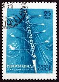 Postage Stamp Russia 1956 Rowing, Sport