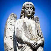 Beautiful sculpture at a cemetery in Melbourne Australia