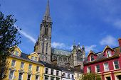 St. Colman's Neo-gothic Cathedral In Cobh, South Ireland