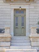 elegant house entrance