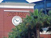 SAN FRANCISCO, CA - NOVEMBER 17: AT&T Park King Street Clock Tower November 17, 2012 in San Francisc