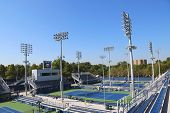 Renovated courts at the Billie Jean King National Tennis Center ready for US Open tournament