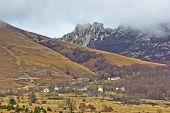 Velebit Mountain Village In Fog