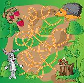 Children's Puzzle - Maze