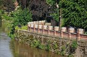 Flood defence barrier, Hereford.