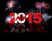Canada, New Year 2015.