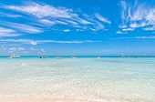 picture of northeast  - tropical sea on famous Playa del Norte beach in Isla Mujeres - JPG