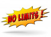 No Limits Message