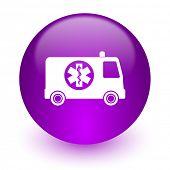 ambulance internet icon