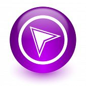 navigation internet icon
