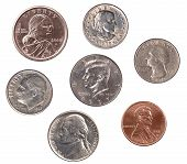 Set Of U.s. Coins