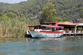 foto of dalyan  - Boat tour in Dalyan River Koycegiz Mugla Turkey - JPG