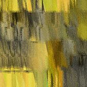 art abstract grunge dust textured background in gold, yellow, grey and black colors