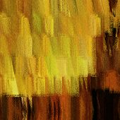 art abstract grunge dust textured background in gold, olive, brown and orange colors