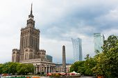 Warsaw, Poland, Palace Of Culture