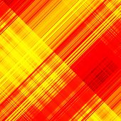 art abstract geometric diagonal pattern background in red and gold colors