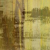 art abstract colorful silk textured blurred background in green, olive, brown and gold colors