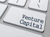 Venture Capital on Keyboard Button.