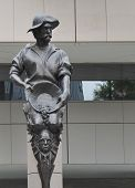 Gold Miner statue