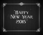 Movie still screen - Happy New Year 2015 - EPS10