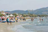 Laganas Coast On Zakynthos