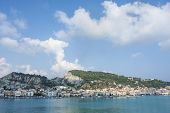 View Of Zante On Zakynthos