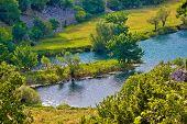 River Krupa Green Nature Canyon
