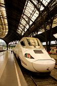 High-speed train, Barcelona, Spain