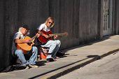 St. Augustine Street Performers