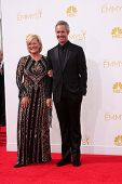 LOS ANGELES - AUG 25:  Jayne Atkinson, Michel Gill at the 2014 Primetime Emmy Awards - Arrivals at N