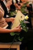 Holding A Diploma