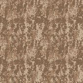 Vector Camo Pattern Brown