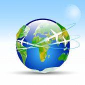 Vector-earth-planet
