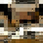 art abstract colorful geometric pattern; background in black, gold, grey and brown colors