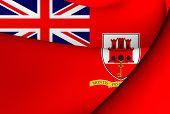 Civil Ensign Of Gibraltar